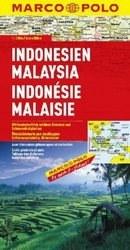 Indonézia és Malaysia térkép - Marco Polo