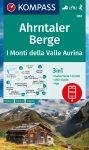 Ahrntaler Berge, hiking map (WK 082) - Kompass