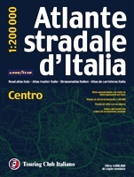Italia - Centro autóatlasz - TCI