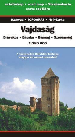 Vajdaság autótérkép - Szarvas & Topográf