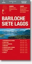 Bariloche - Siete Lagos térkép (No6.) - de Dios Editores