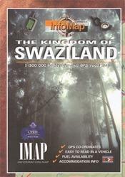 Swaziland térkép - IMAP