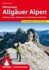 Allgäui-Alpok: több napos és ferrata túrák, német nyelvű túrakalauz - Rother