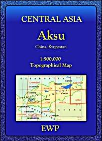 Aksu regionális térkép - EWP