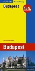 Budapest várostérkép - Falk
