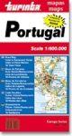 Portugália térkép - Turinta