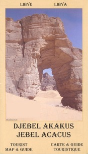 Jebel Acacus térkép - EWP