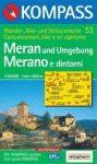 Merano és környéke turistatérkép (WK 053) - Kompass