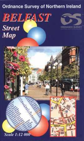 Belfast térkép - Ordnance Survey