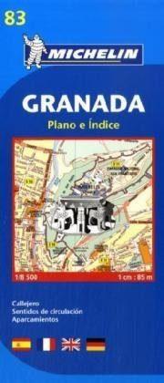 Granada térkép - Michelin
