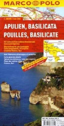 Apulia / Basilicata térkép - Marco Polo