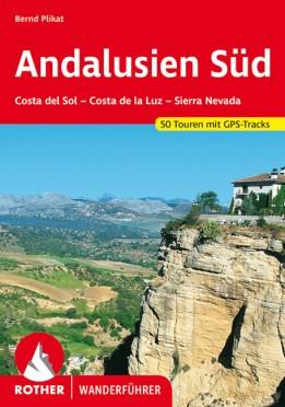 Andalúzia (dél), német nyelvű túrakalauz - Rother