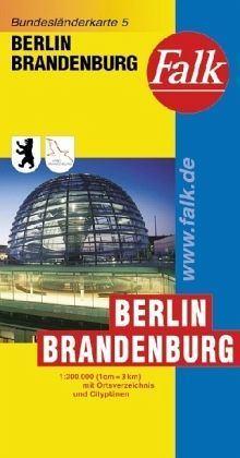 Berlin és Brandenburg autótérkép - Falk