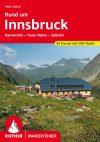Innsbruck környéke, német nyelvű túrakalauz - Rother