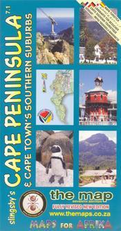Cape Peninsula térkép - Baardskeerder