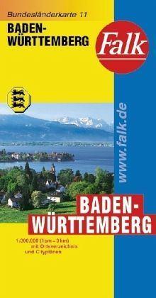 Baden-Württemberg autótérkép - Falk