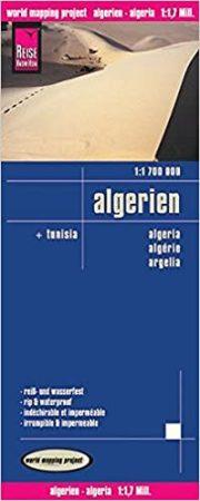 Algéria, Tunézia térkép - Reise Know-How