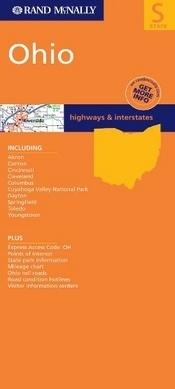 Ohio térkép - Rand McNally