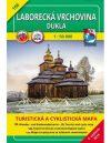 Laborc menti dombság, Dukla turistatérkép (106) - VKÚ