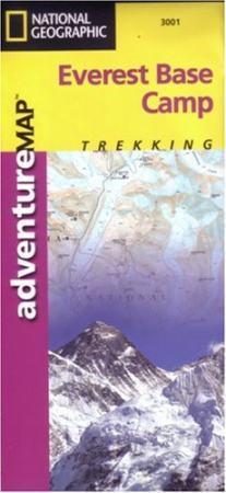 Everest alaptábor térkép - National Geographic