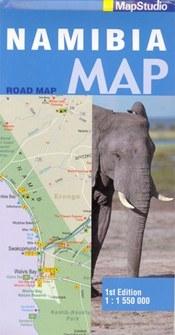 Namibia térkép - Map Studio