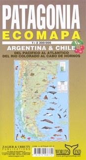 Patagonia Ecomapa térkép - Zagier y Urruty