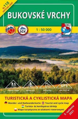 Bukovai-hegység turistatérkép (HM 118) - VKÚ