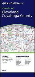 Cleveland, Cuyahoga County, OH térkép - Rand McNally
