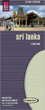 Sri Lanka térkép - Reise Know-How