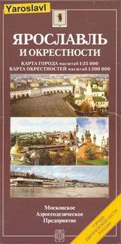 Jaroszlavl térkép - Roskartografija