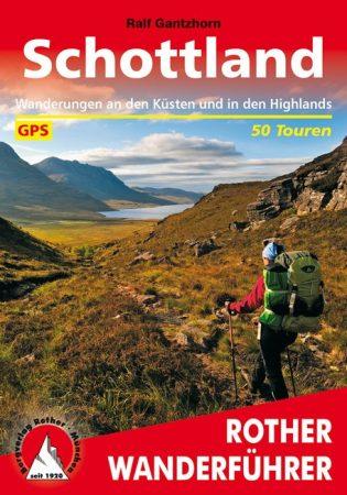Skócia, német nyelvű túrakalauz - Rother