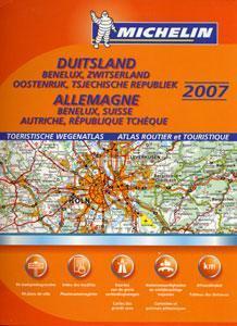 Germany Road Atlas - Michelin