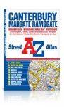Canterbury, Margate, Ramsgate atlasz - A-Z