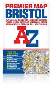 Bristol térkép - A-Z