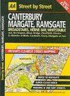 Canterbury, Margate, Ramsgate atlasz - AA