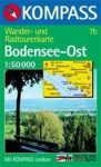 Bodensee (kelet) turistatérkép (WK 1b) - Kompass