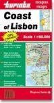 Lisszabon partvidéke térkép - Turinta