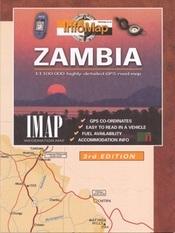 Zambia térkép - IMAP