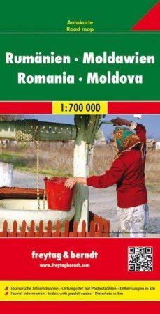 Románia és Moldova autótérkép (1:700000) - Freytag-Berndt