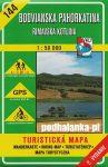 Gömöri-dombság, Rima-medence turistatérkép (144) - VKÚ