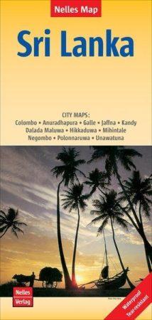 Sri Lanka térkép - Nelles