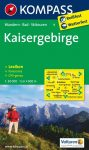 Kaisergebirge turistatérkép (WK 9) - Kompass