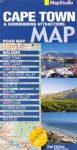 Cape Town & Surrounding Attractions térkép - Map Studio