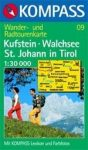 Kufstein, Walchsee, St. Johann in Tirol turistatérkép (WK 09) - Kompass