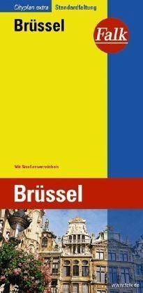 Brüsszel várostérkép - Falk