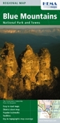 Blue Mountain National Park and Towns térkép - Hema