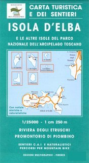 Elba and the Tuscan Archipelago térkép (No 502) - Multigraphic