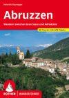 Abruzzók, német nyelvű túrakalauz - Rother