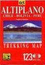 Altiplano térkép - JLM Mapas