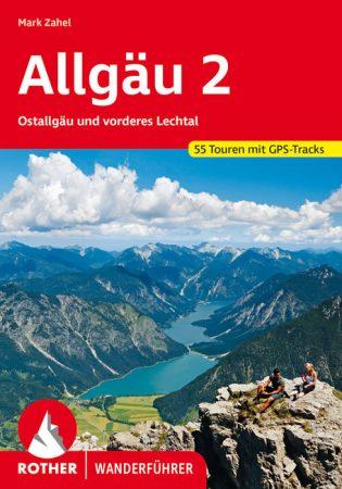 Allgäu (2), német nyelvű túrakalauz - Rother